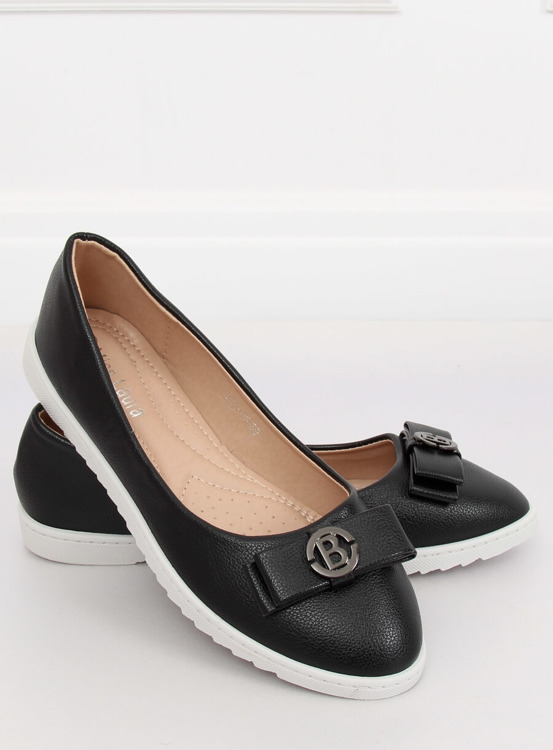 Balerinki damskie czarne YSD-03 BLACK