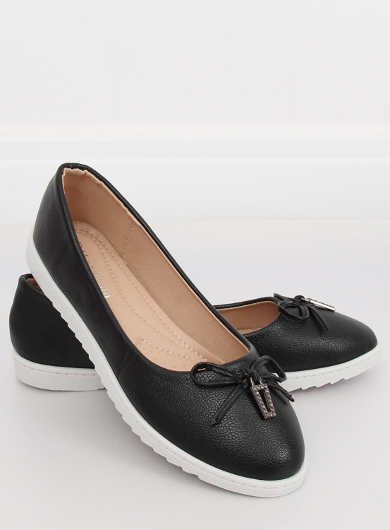 Balerinki damskie czarne YSD-04 BLACK