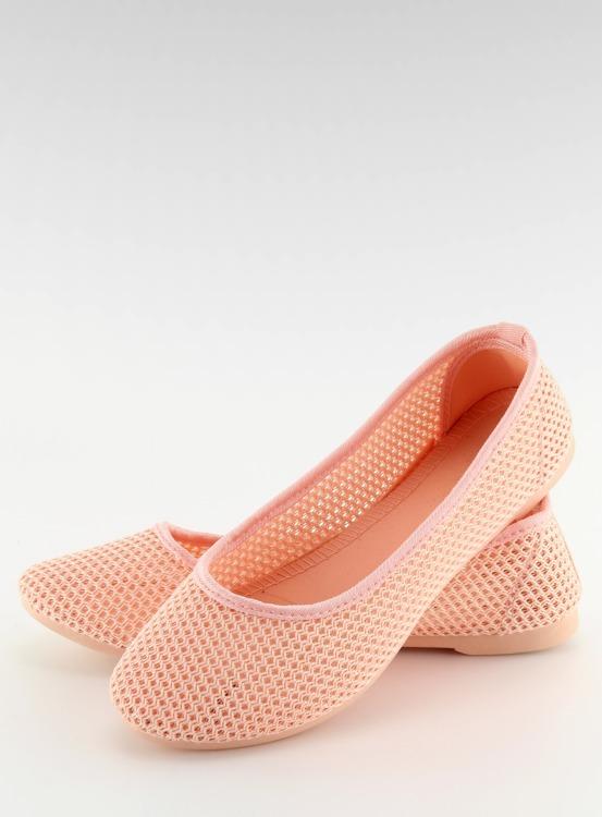 Balerinki siateczkowe różowe JX56 PINK