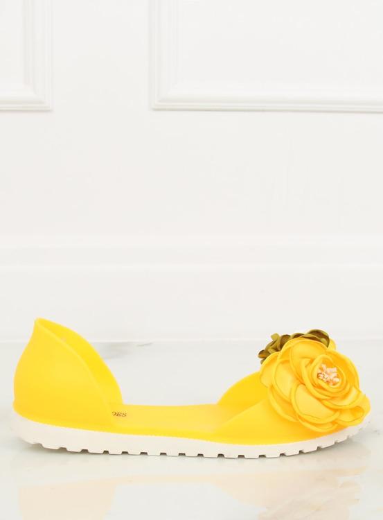 Baleriny meliski żółte W-13 YELLOW