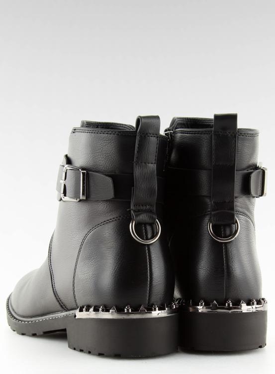 Botki damskie czarne G-168-1 BLACK