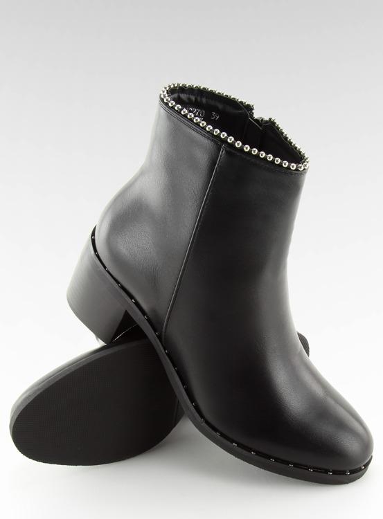 Botki damskie czarne NC270 BLACK