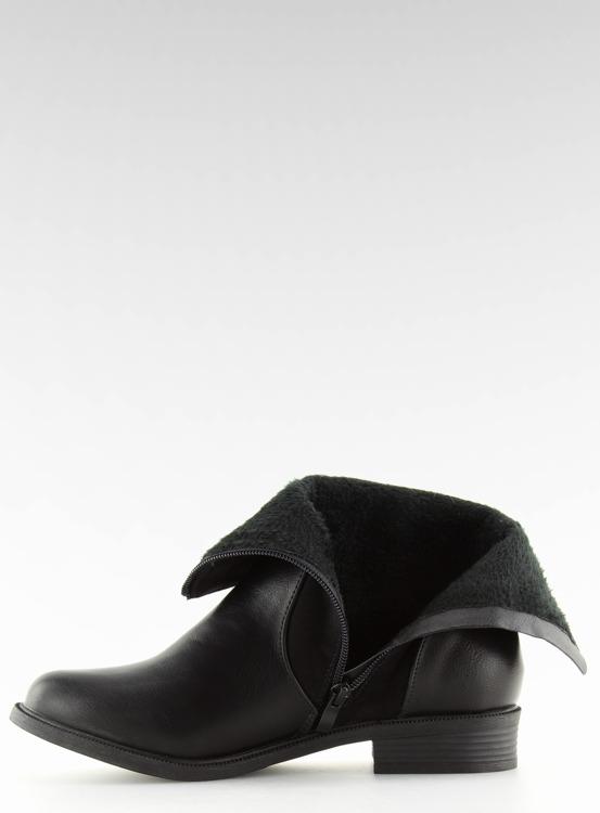 Botki damskie czarne Z-27 BLACK