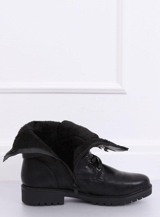 Botki militarne czarne 1952-11 BLACK