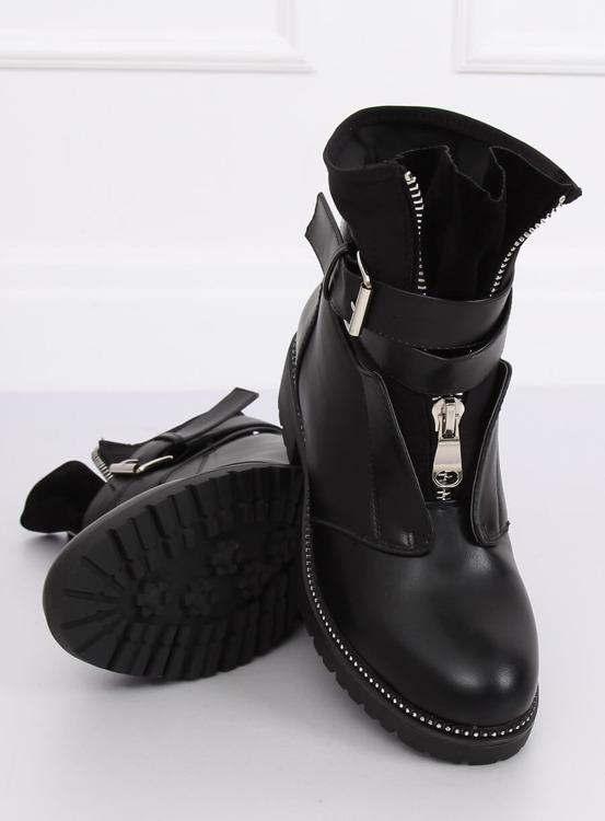 Botki militarne czarne NC821 BLACK