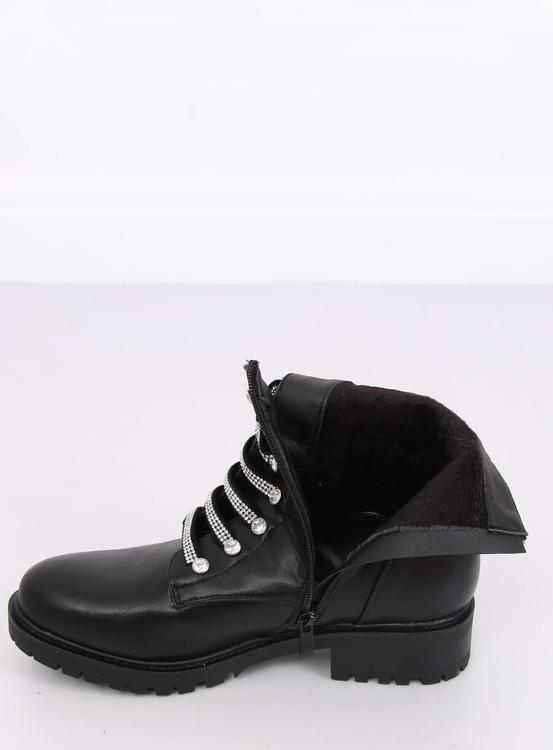Botki militarne czarne NC876 BLACK