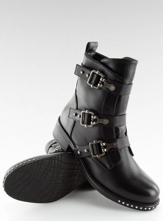 Botki militarne czarne NS08P BLACK