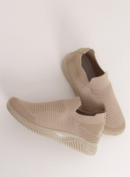 Buty sportowe beżowe 9924 BEIGE