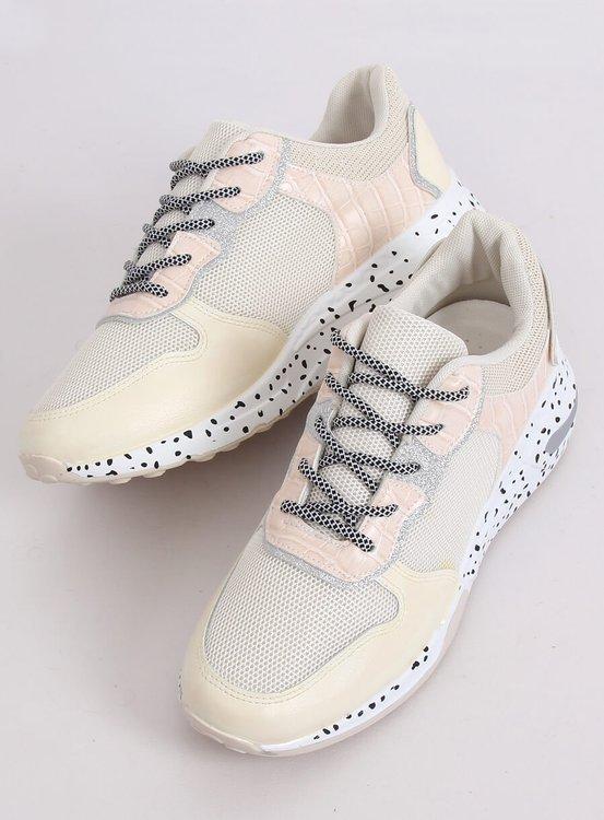 Buty sportowe beżowe YL-22 BEIGE