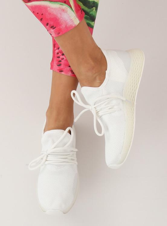 Buty sportowe białe B-6851 WHITE
