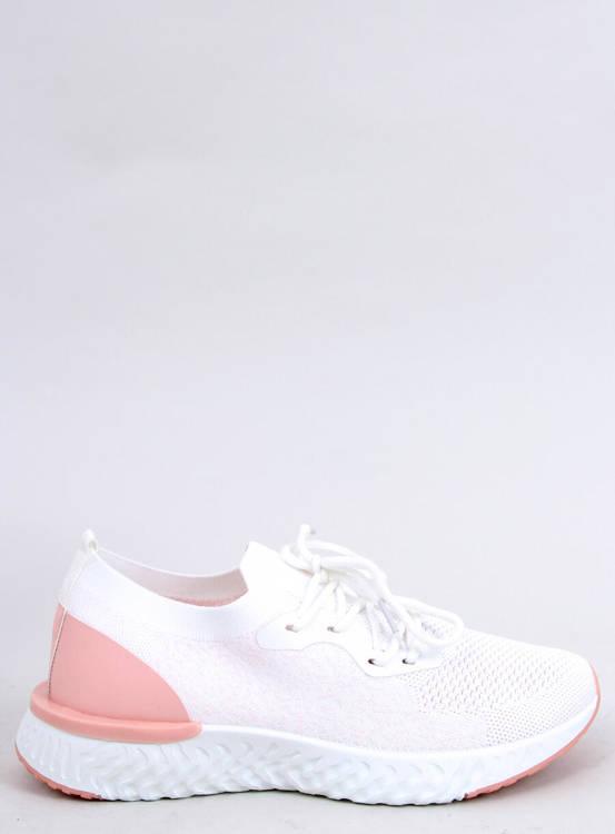 Buty sportowe białe BL164P L.PINK