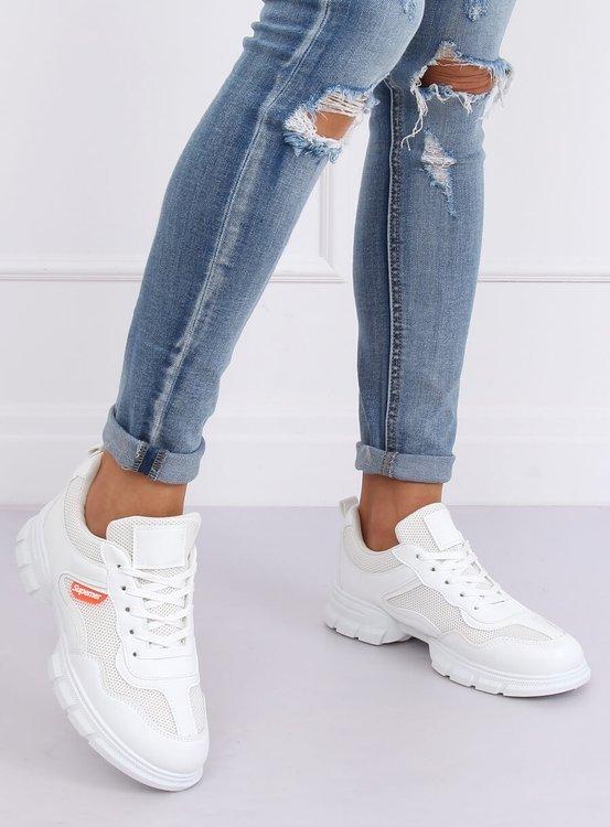 Buty sportowe białe C051 BLANCO
