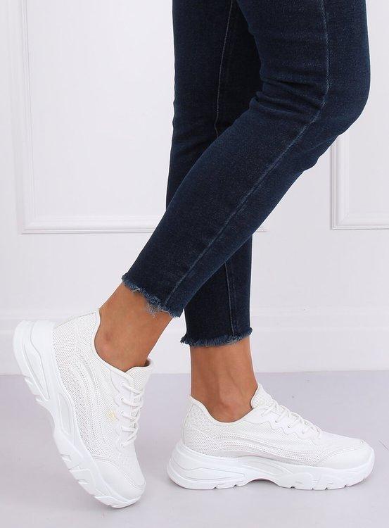 Buty sportowe białe DML902 WHITE