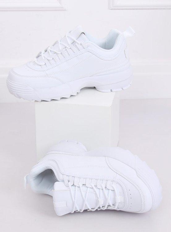 Buty sportowe białe DSC81-2 WHITE