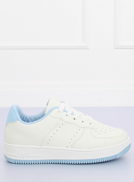Buty sportowe biało-niebieskie LV75P L.BLUE