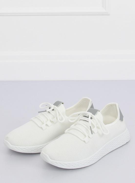 Buty sportowe biało-szare NB281 GREY