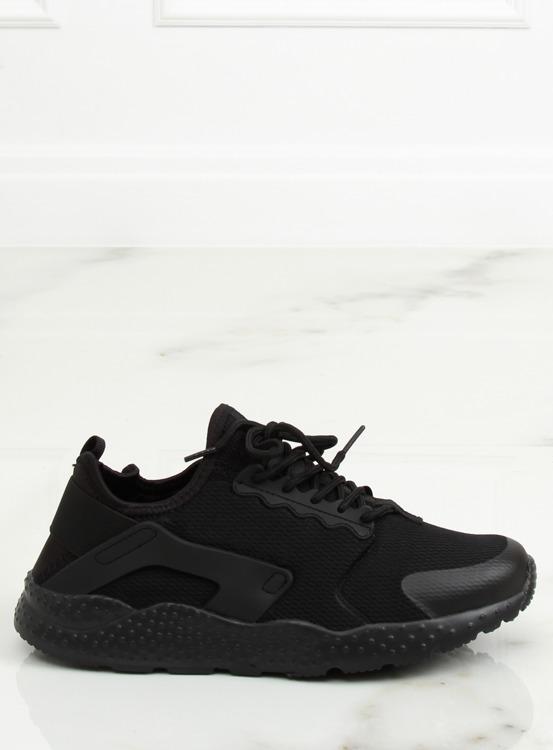Buty sportowe czarne 310-2 BLACK