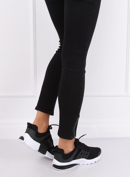 Buty sportowe czarne 520-3 BLACK