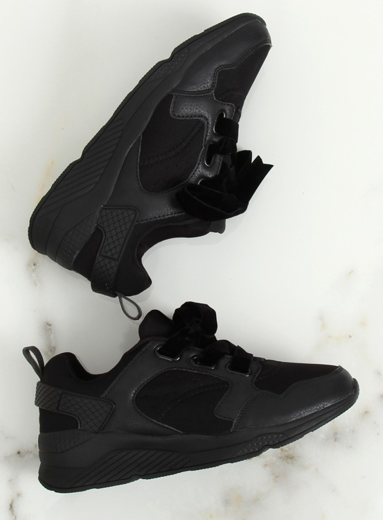 Buty sportowe czarne 520-7 BLACK