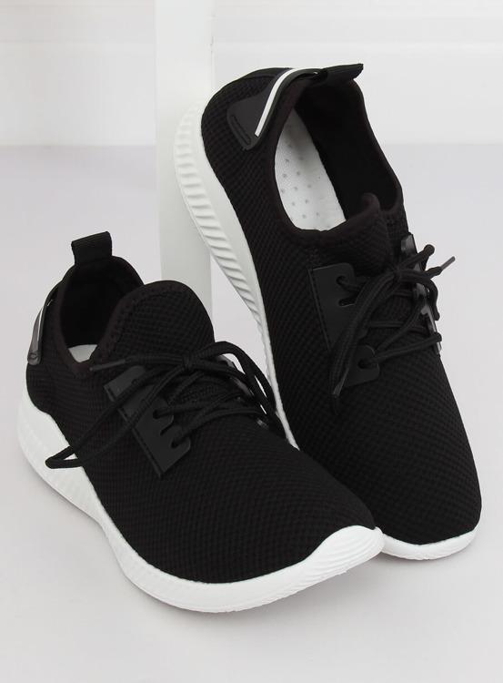 Buty sportowe czarne 7762-Y BLACK