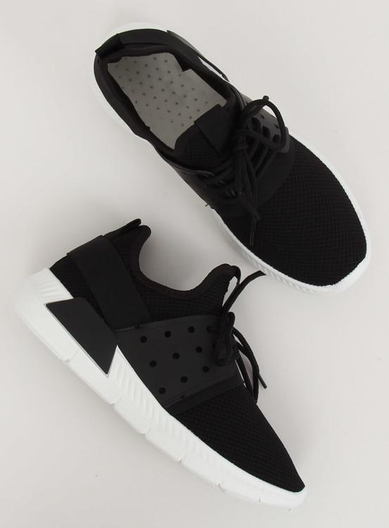 Buty sportowe czarne 7781-Y BLACK