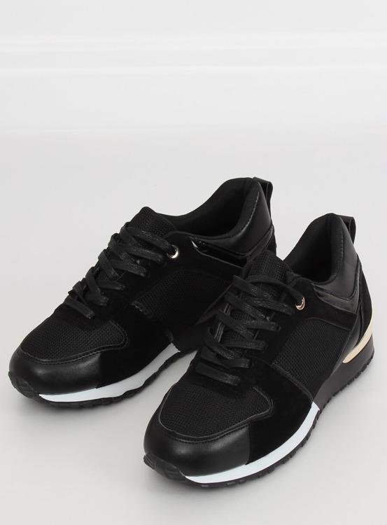Buty sportowe czarne B-01 BLACK