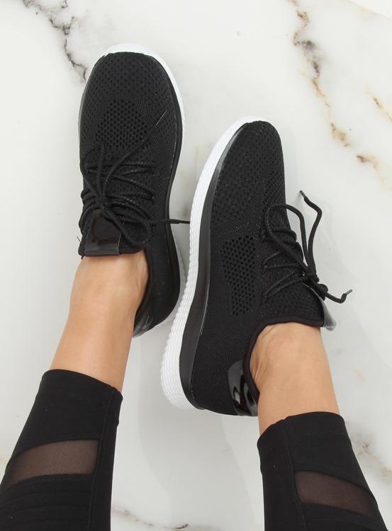 Buty sportowe czarne B111-8 BLACK