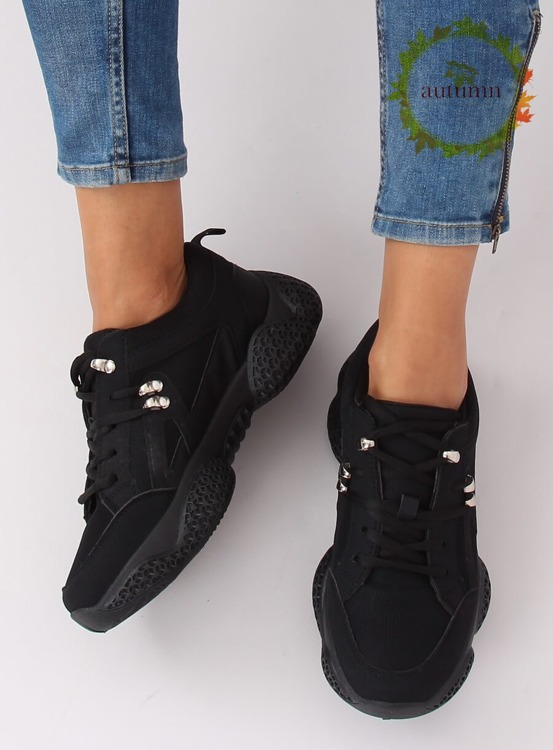 Buty sportowe czarne BD-5 BLACK