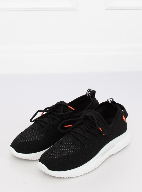 Buty sportowe czarne BK-117 BLACK