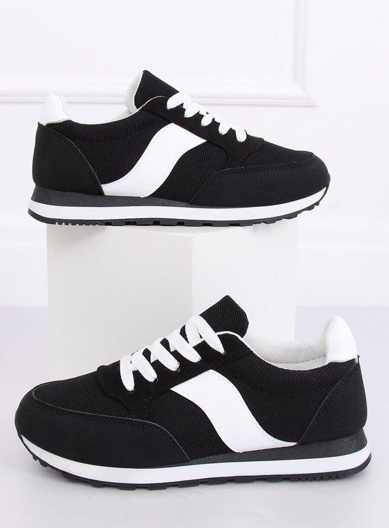 Buty sportowe czarne BL189P BLACK