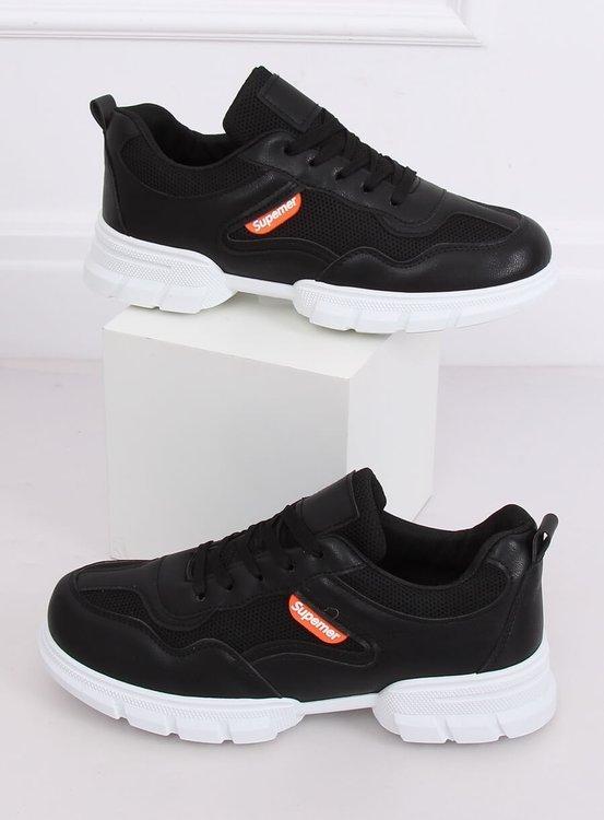 Buty sportowe czarne C051 NEGRO