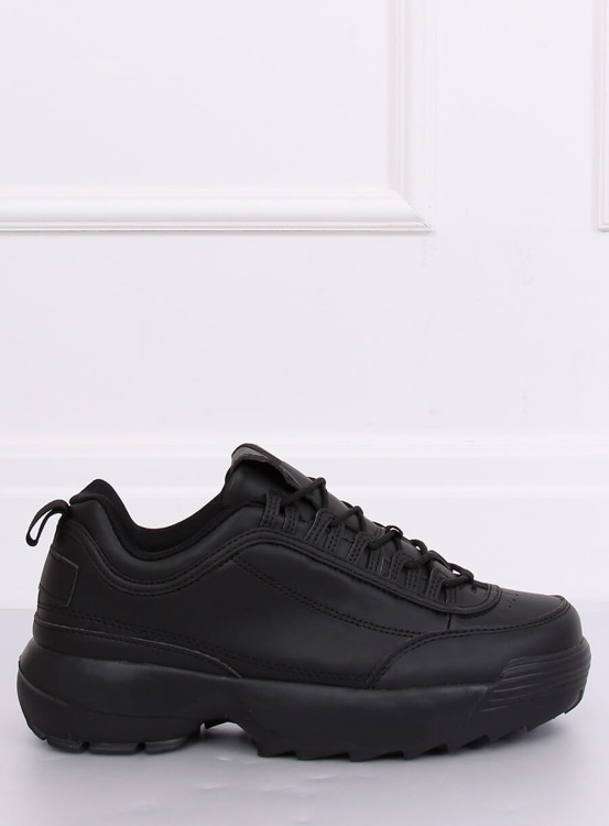 Buty sportowe czarne DSC81-1 BLACK