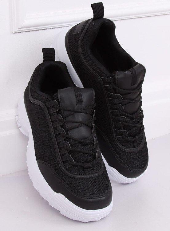 Buty sportowe czarne DSC82 BLACK/WHITE