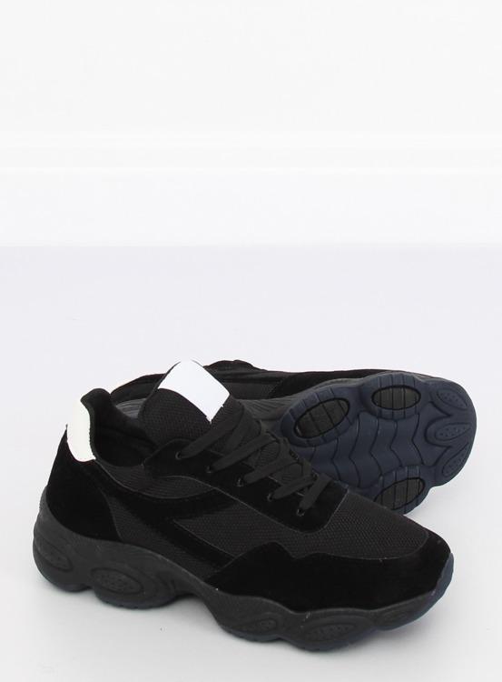 Buty sportowe czarne E-102 BLACK