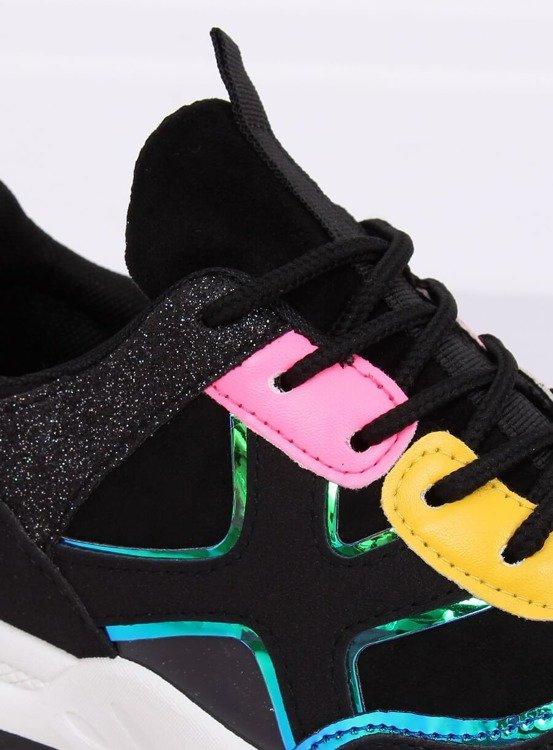 Buty sportowe czarne HL-12 BLACK