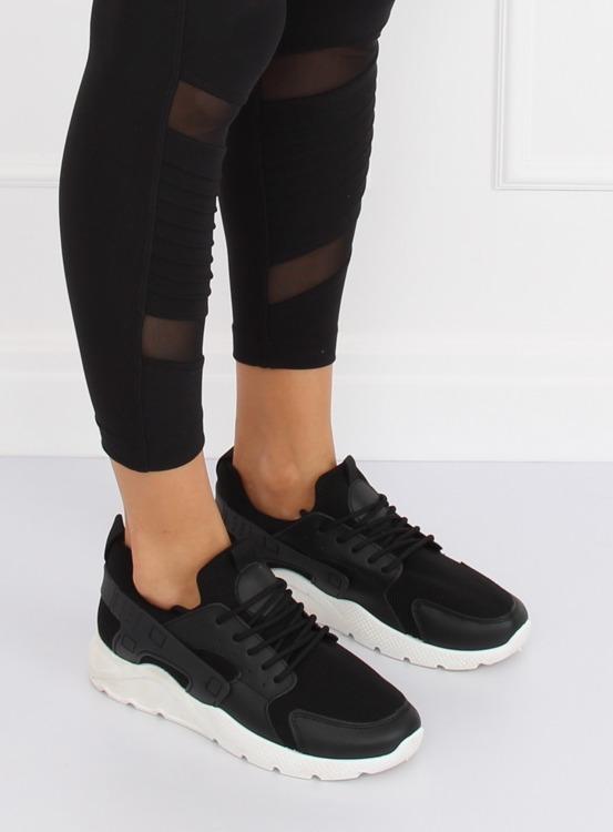 Buty sportowe czarne LA18P BLACK