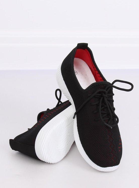 Buty sportowe czarne MG1517 BLACK