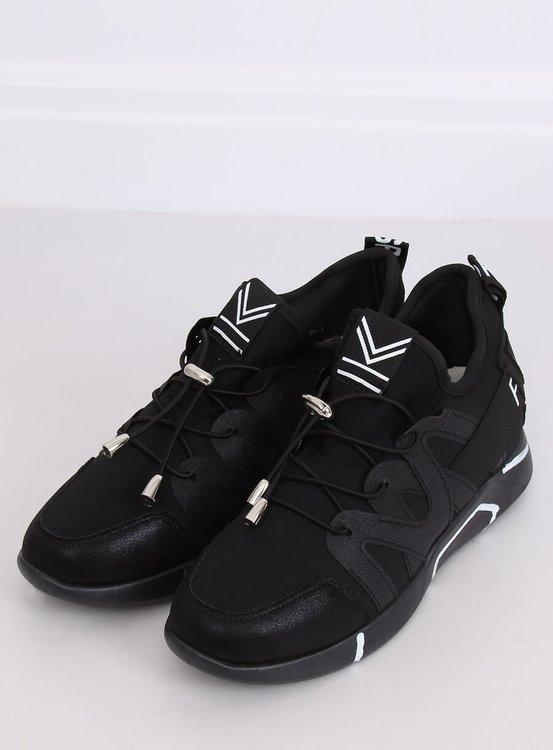 Buty sportowe czarne NB358P ALL BLACK