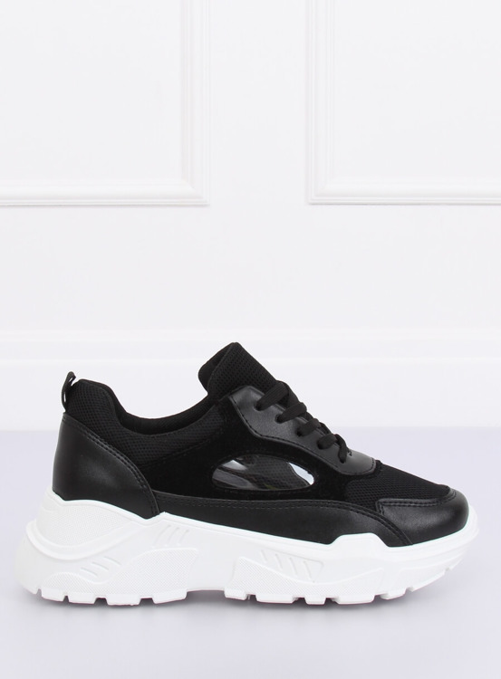 Buty sportowe czarne PP-37 BLACK