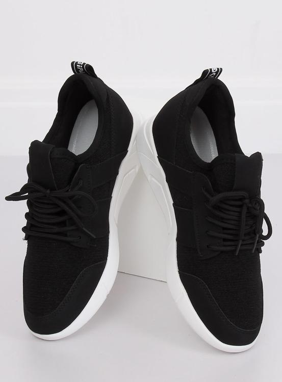 Buty sportowe czarne X-9762 BLACK