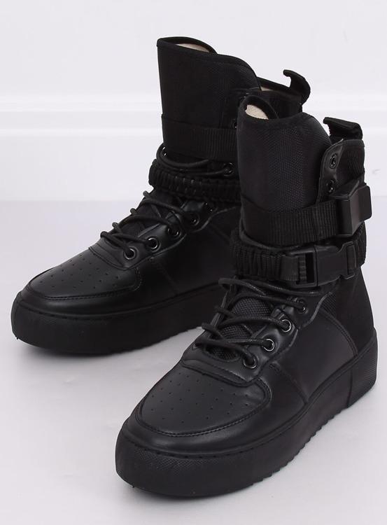 Buty sportowe czarne Y-027 BLACK