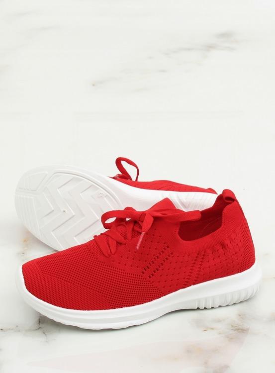 Buty sportowe czerwony LX-9837 RED