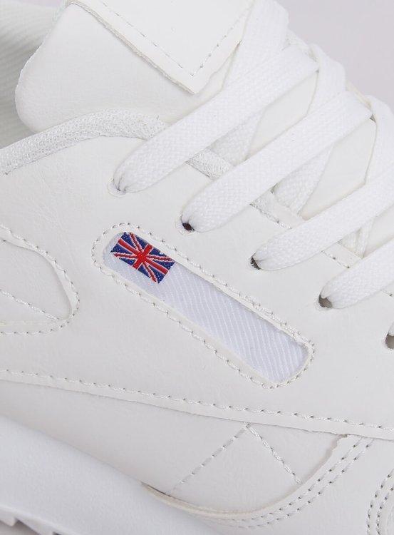 Buty sportowe damskie białe BK938 WHITE