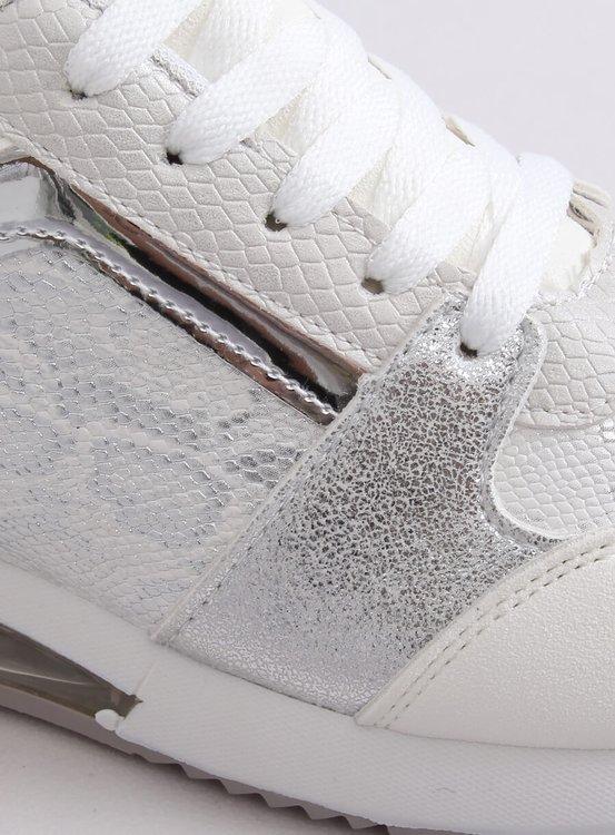Buty sportowe damskie białe BL206 WHITE