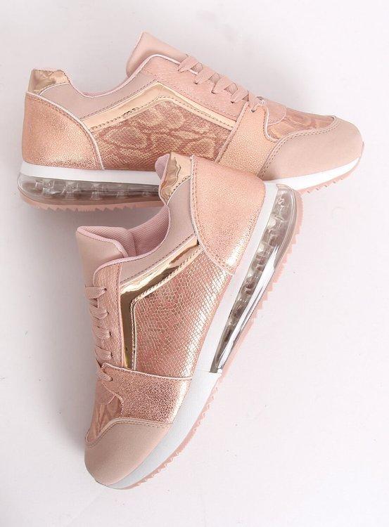 Buty sportowe damskie różowe BL206 PINK