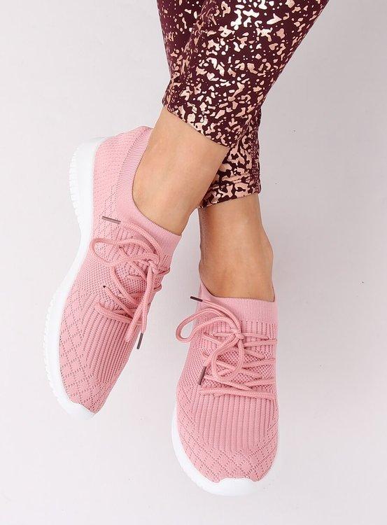 Buty sportowe różowe 7753-Y PINK