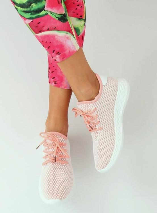 Buty sportowe różowe 7760-Y PINK