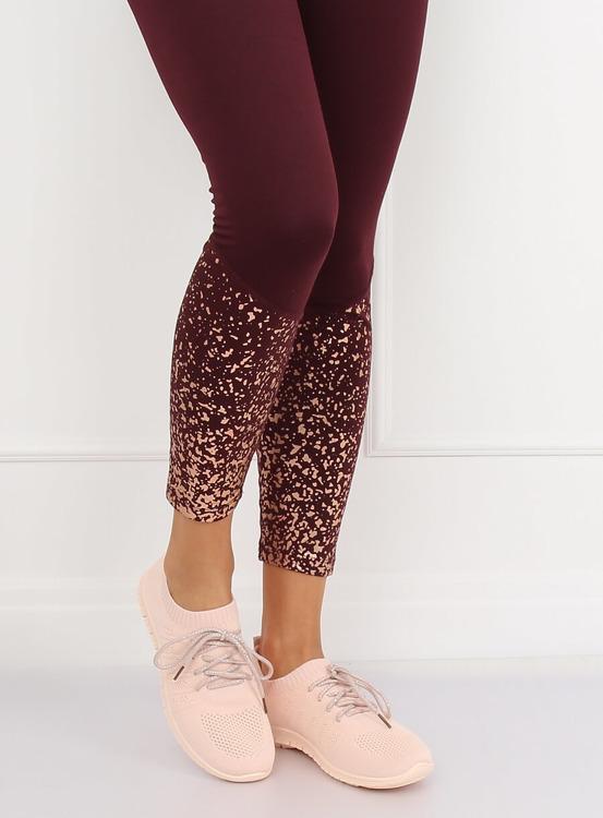 Buty sportowe różowe B111-10 PINK