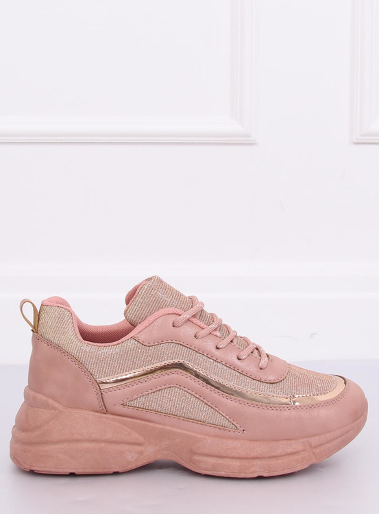 Buty sportowe różowe BY-082 PINK