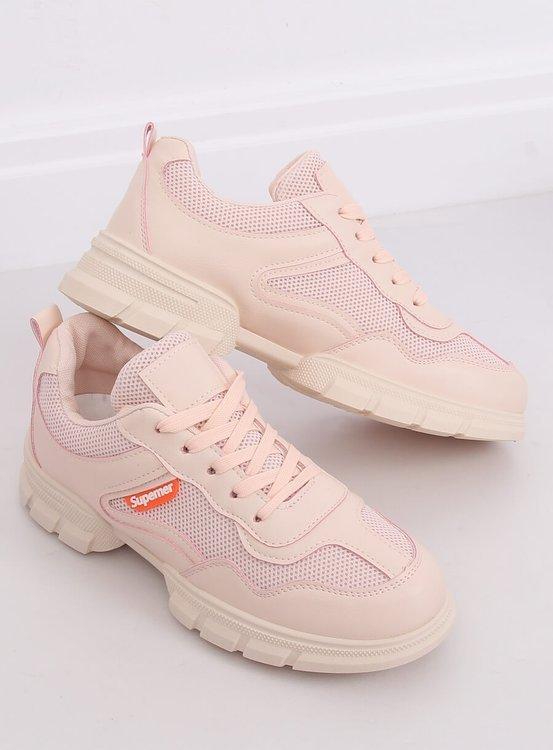 Buty sportowe różowe C051 ROSA